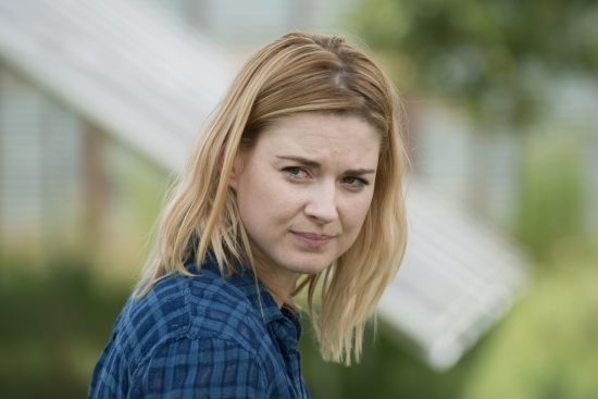 Alexandra Breckenridge as Jessie - The Walking Dead Saison 6 Épisode 9 - Crédit Photo : Gene Page/AMC
