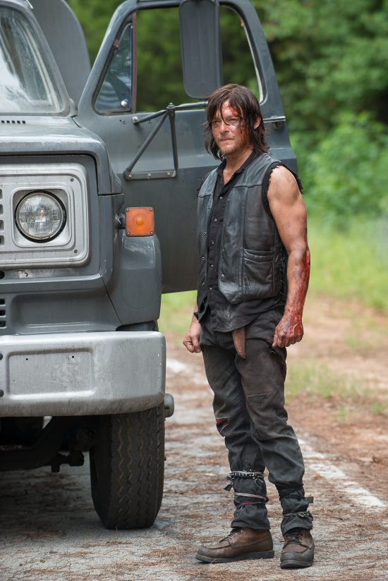 Norman Reedus as Daryl Dixon - The Walking Dead Saison 6 Épisode 9 - Crédit Photo : Gene Page/AMC