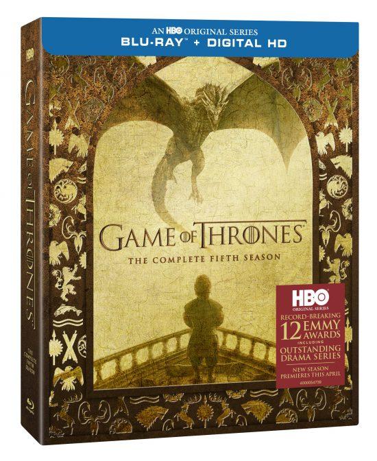 Game of Thrones Saison 5 Boitier Blu-ray