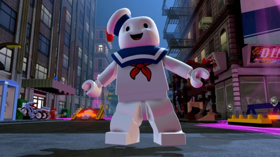 Stay Puft - LEGO Dimensions