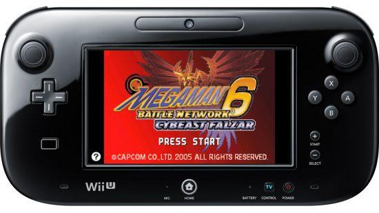 Mega Man Battle Network 6 Falzar Wii U VC - Nintendo 10 mars 2016