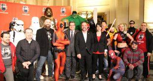 Conférence de presse du Comiccon de Montréal 2016