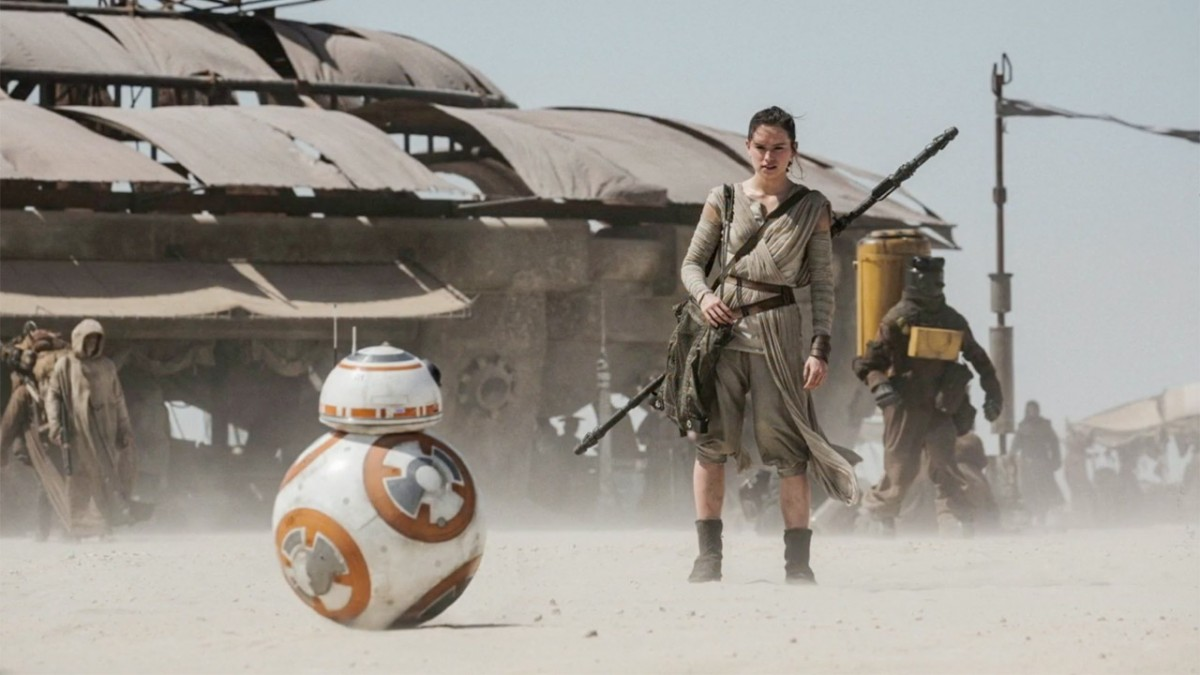 Rey & BB-8 | Star Wars The Force Awakens sur DVD et Blu-Ray