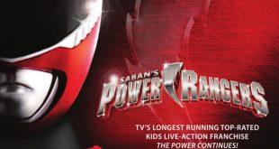 poster tournage power rangers