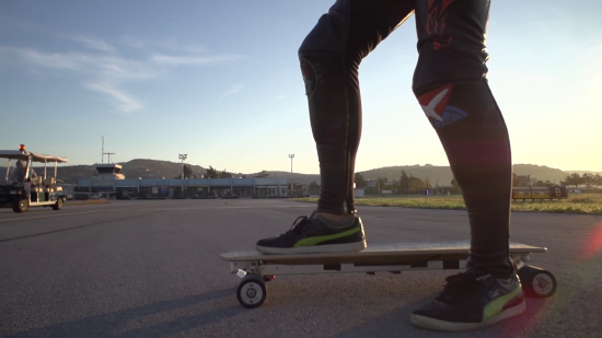 NEXTBoard : le skateboard électrique qui bat des records de vitesse