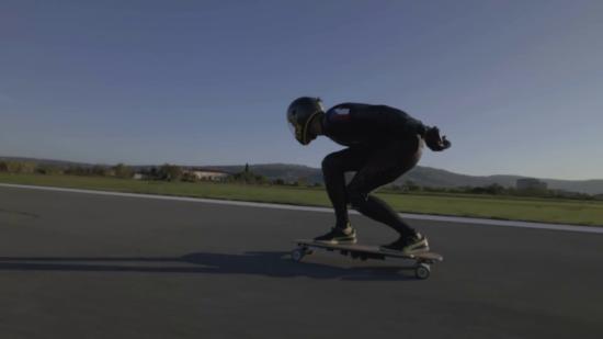 Skateboard électrique : un nouveau record de vitesse