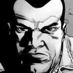 The Walking Dead s06e16 Finale - Negan (comic)