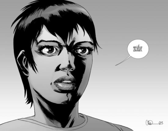 The Walking Dead Saison 6 Épisode 15 - Maggie dans les comics