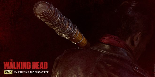 The Walking Dead s06e16 Finale - Negan et Lucille