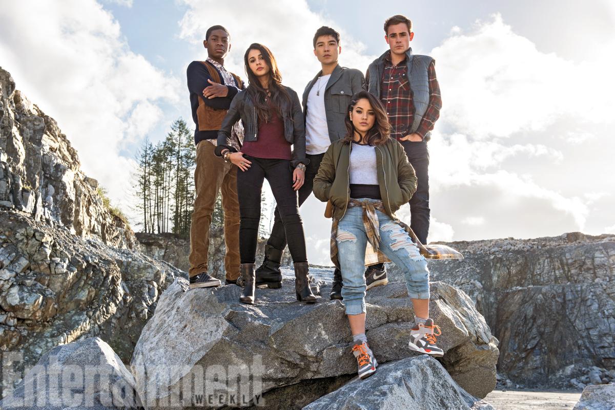Première photo du tournage des Power Rangers
