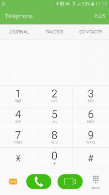 Téléphone - Samsung Galaxy S7