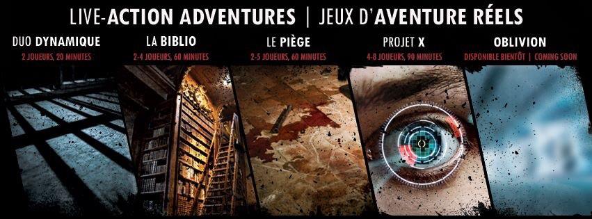 Source: Page Facebook Obsidem | Enquêtez dans l'une des 8 salles de jeux d'évasions à Montréal