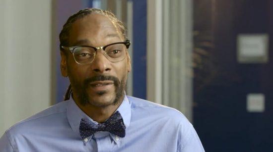 Snoop Dog qui présente la SnoopaVision