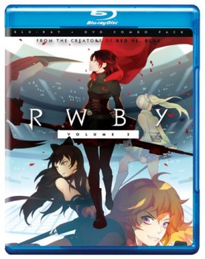 RWBY Volume 3 - cover art