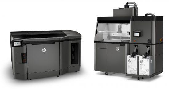 les deux versions de l'imprimante (gracieuseté de HP) | HP impression 3D