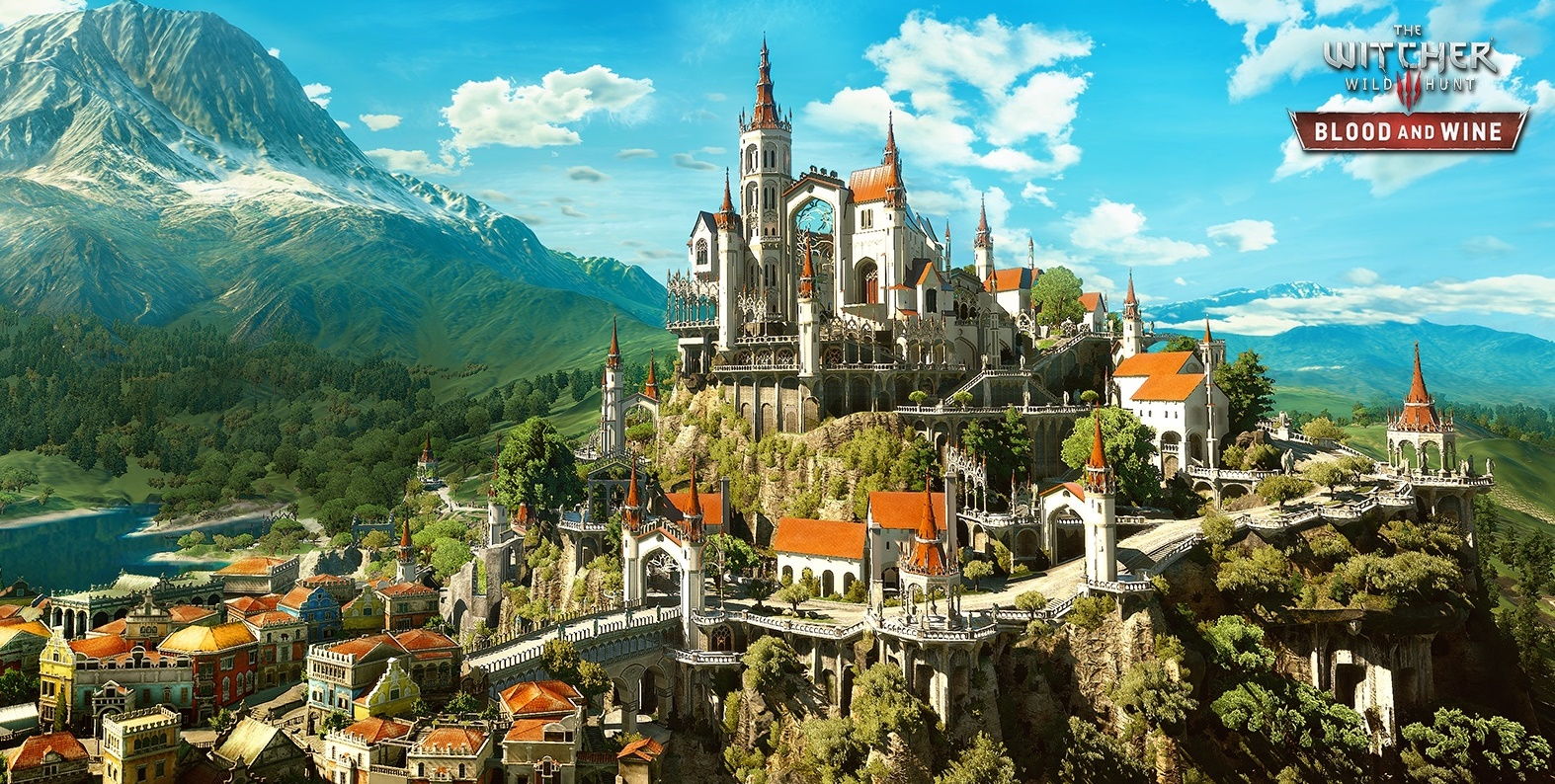Un aperçu de la nouvelle zone de jeux, Toussaint | The Witcher 3 Blood and Wine