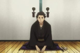Une séquence de rakugo