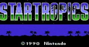 Écran titre de StarTropics