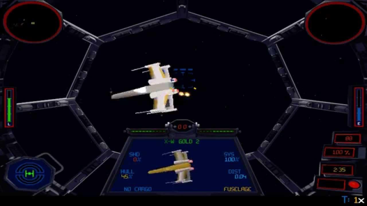 TIE Fighter - Version CD-ROM de 1995