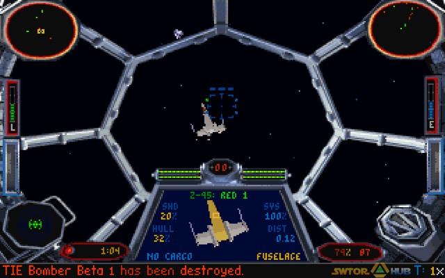 TIE Fighter - Version disquettes de 1994