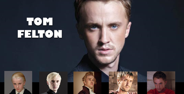 Tom Felton de Harry Potter au Comiccon de Montréal 2016