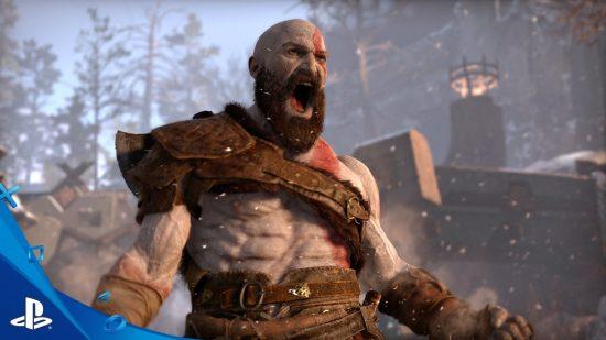 La vidéo de God of War nous a montré un Kratos barbu et âgé, mais ayant toujours autant de rage en lui! | E3 2016 Sony