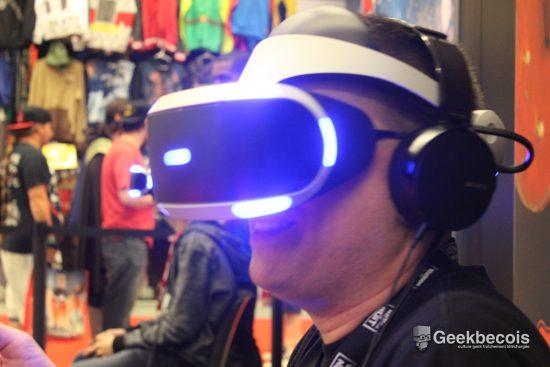Malgré le sujet cauchemardesque de la démo, j'ai eu beaucoup de plaisir à tester la PlayStation VR