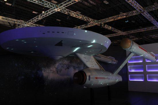 Une magnifique reproduction de l'Enterprise