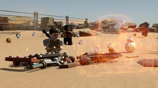Vous pourrez construire plusieurs structures à partir du même lot de pièces - LEGO Star Wars The Force Awakens