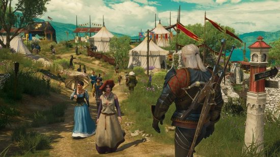 Une des nombreuses quêtes de Blood and Wine se déroule lors d'un tournoi chevaleresque