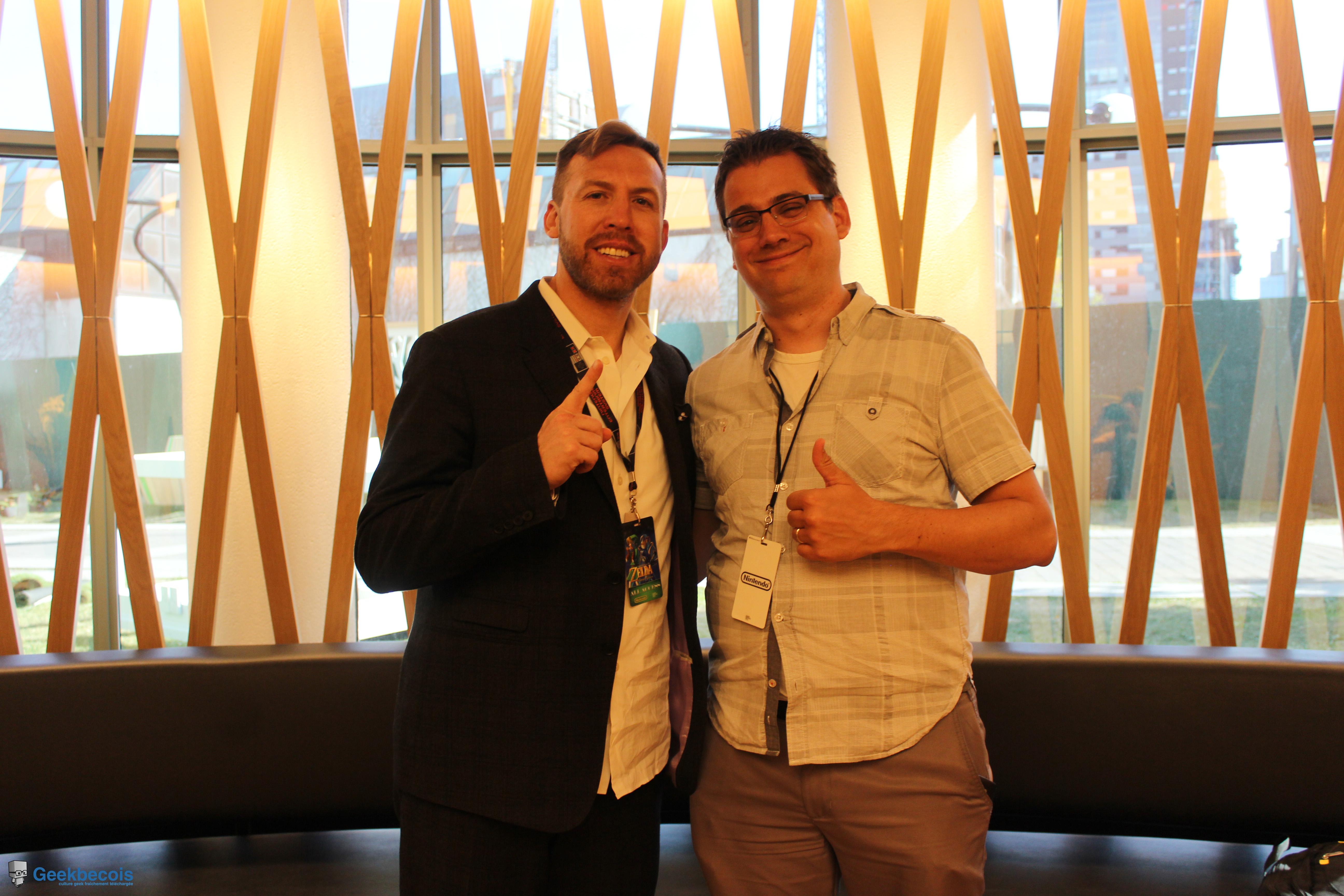 Jason a été d'une grande générosité et a répondu à mes questions avec chaleur | The Legend of Zelda Symphony of the Goddesses