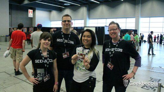 Comiccon de Montréal 2016 - L'équipe de Geekbecois