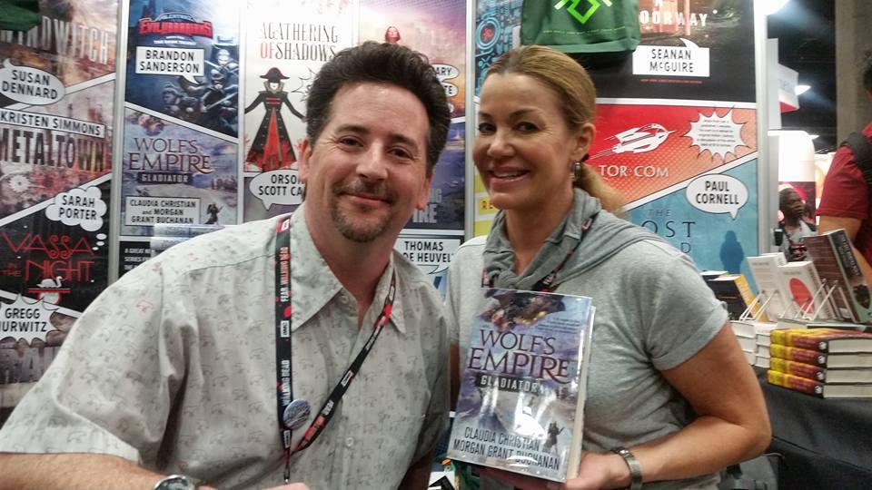 Les auteurs de Wolf's Empire : Morgan Grant Buchanan et Claudia Christian