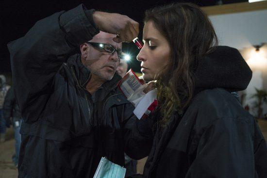 Mercedes Mason as Ofelia Salazar; BTS - Fear The Walking Dead Saison 2 Épisode 7 - Photo Credit: Richard Foreman, Jr/AMC