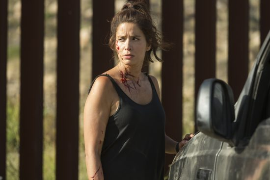 Ofelia Salazar (Mercedes Mason) - Fear The Walking Dead Saison 2 Épisode 14 - Photo : Peter Iovino/AMC