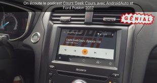 Ford Fusion 2017 - SYNC 3 & Android Auto