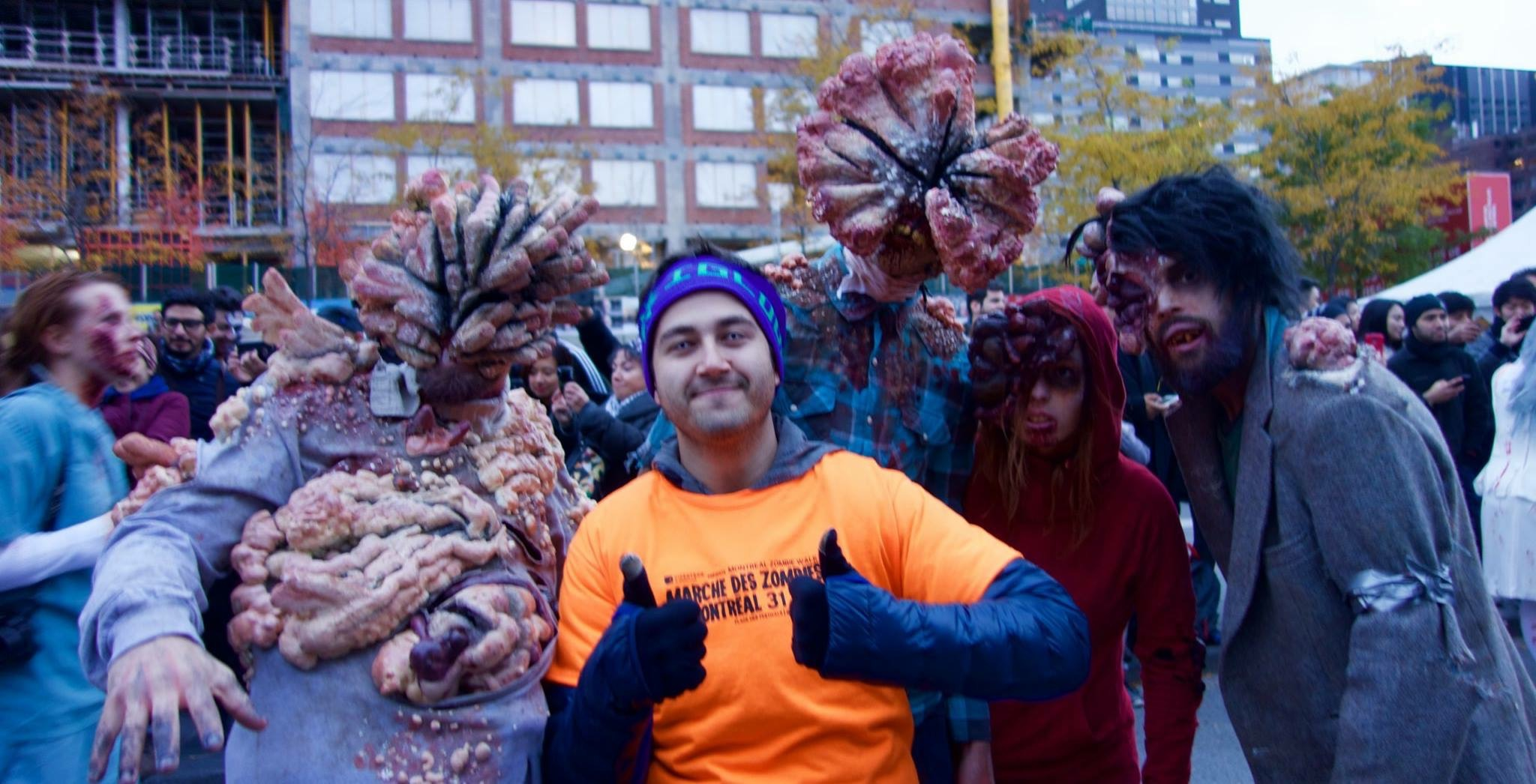 Montréal Zombie Walk Octobre 2015