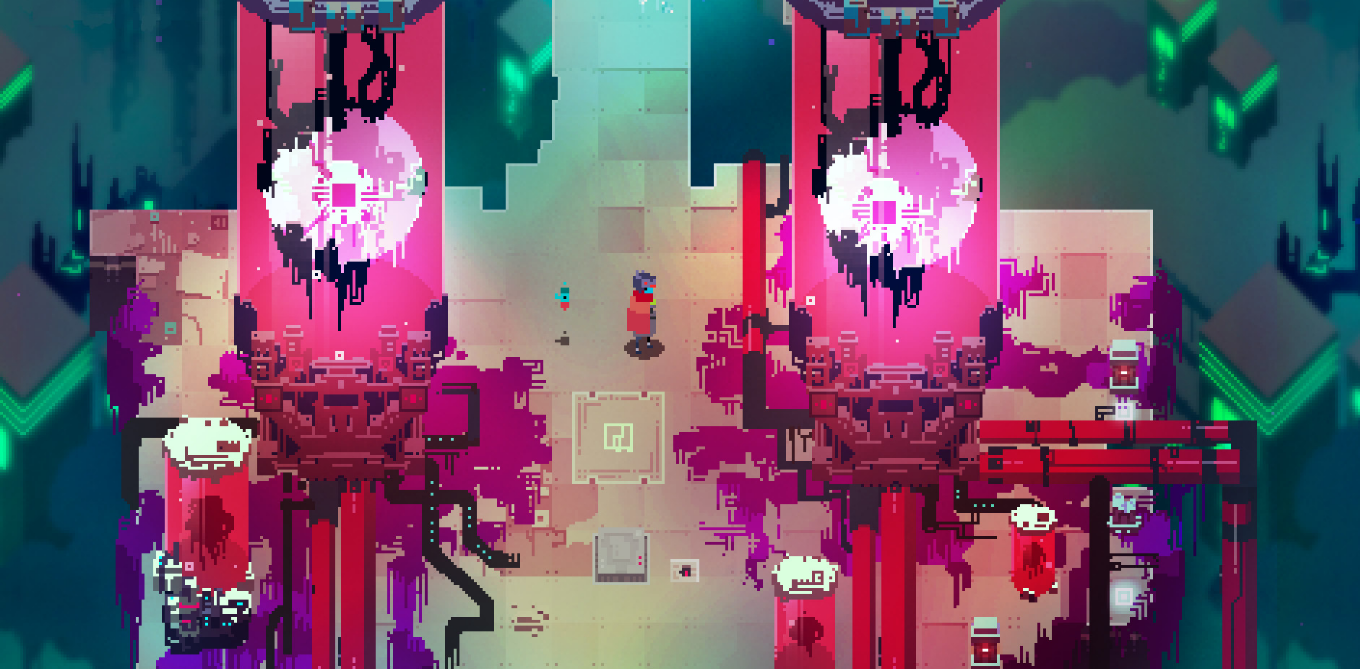 Hyper Light Drifter - Zone techno