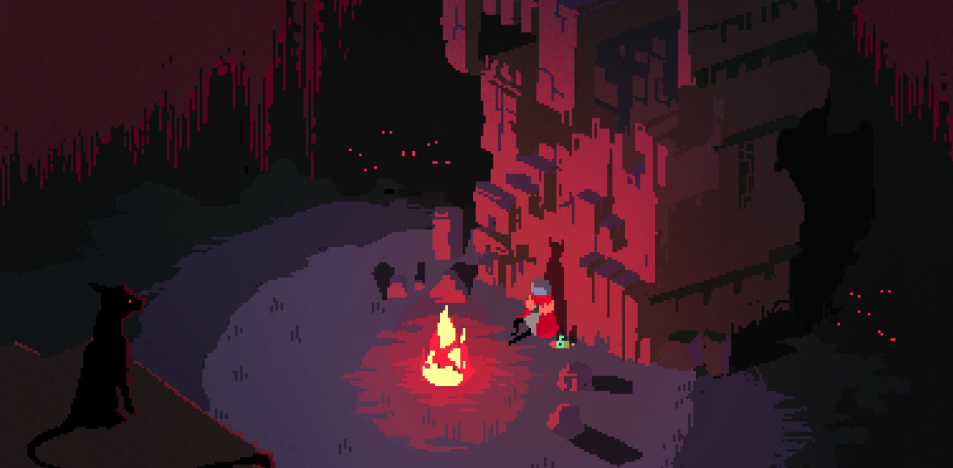Hyper Light Drifter - Feu de camp