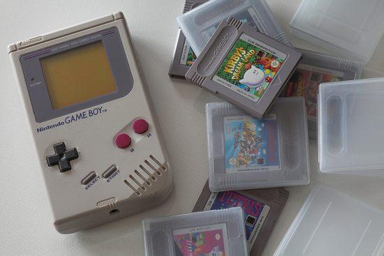Gameboy et vieux jeux