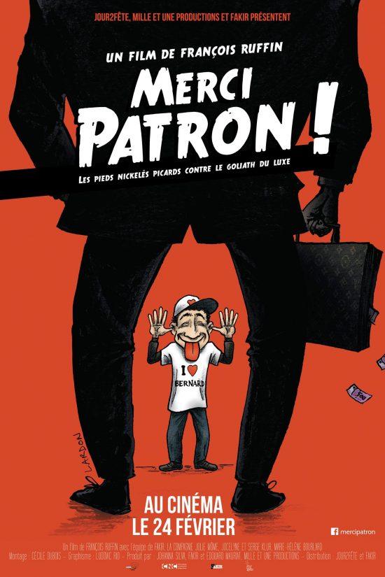 Affiche de Merci Patron ! de François Ruffin