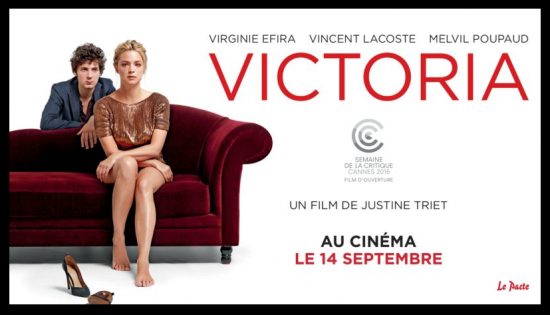 Affiche du film Victoria avec Virginie Effira