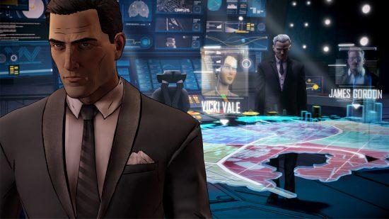 Le joueur prendre la contrôle à la fois de Bruce Wayne et son alter-égo Batman et aura à faire plusieurs choix difficiles qui auront un impact dramatique sur l'histoire | Batman : A Telltale Series