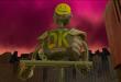 """Les policiers-robots - les """"EOK Bots"""" - détectent la moindre inquiétude en vous et interviennent au même moment. Image: Shark Party Media"""
