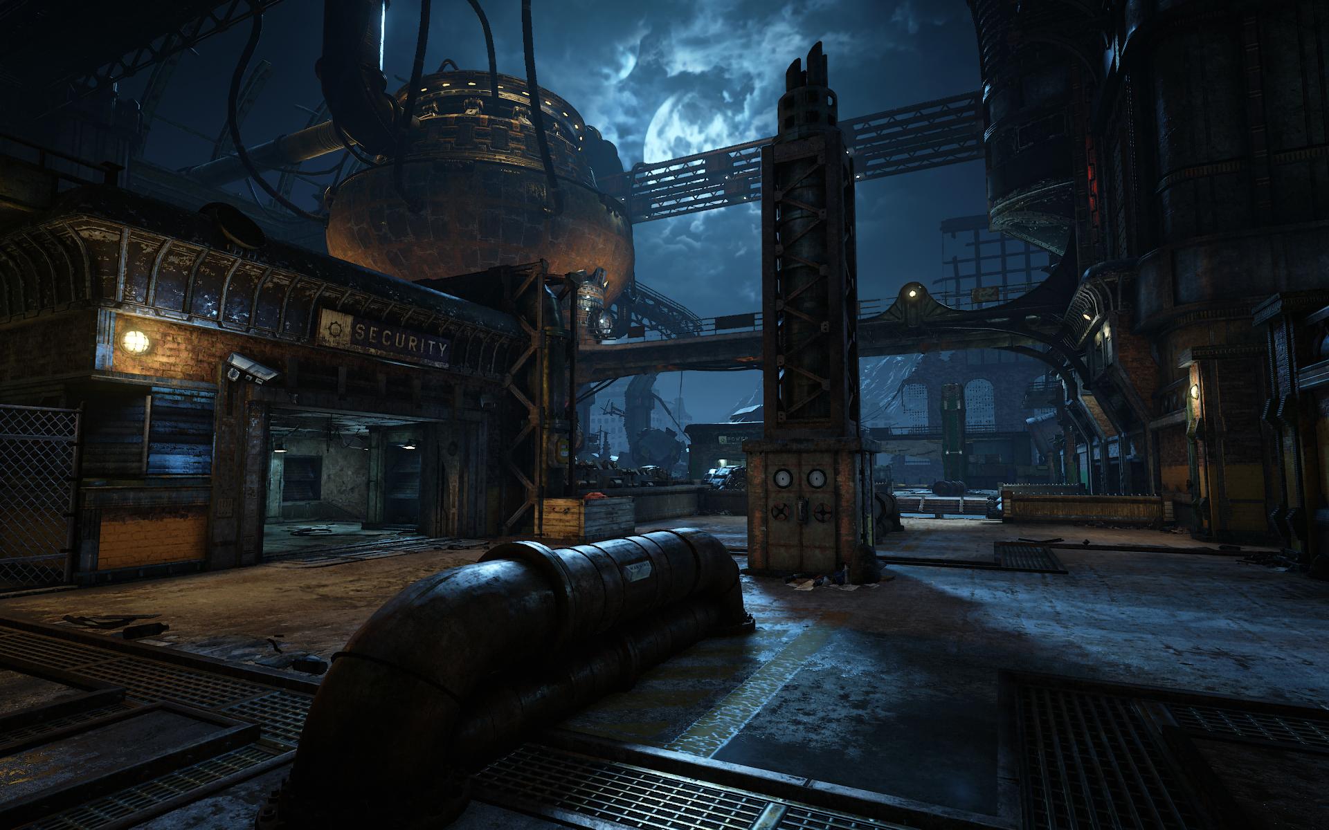 Forge, une des arènes multijoueurs disponibles dans Gears of War 4