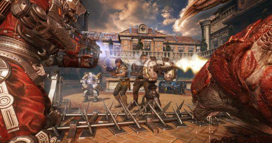 Le très populaire mode Horde revient avec des nouveautés comme des fortifications et des classes de personnage | Gears of War 4