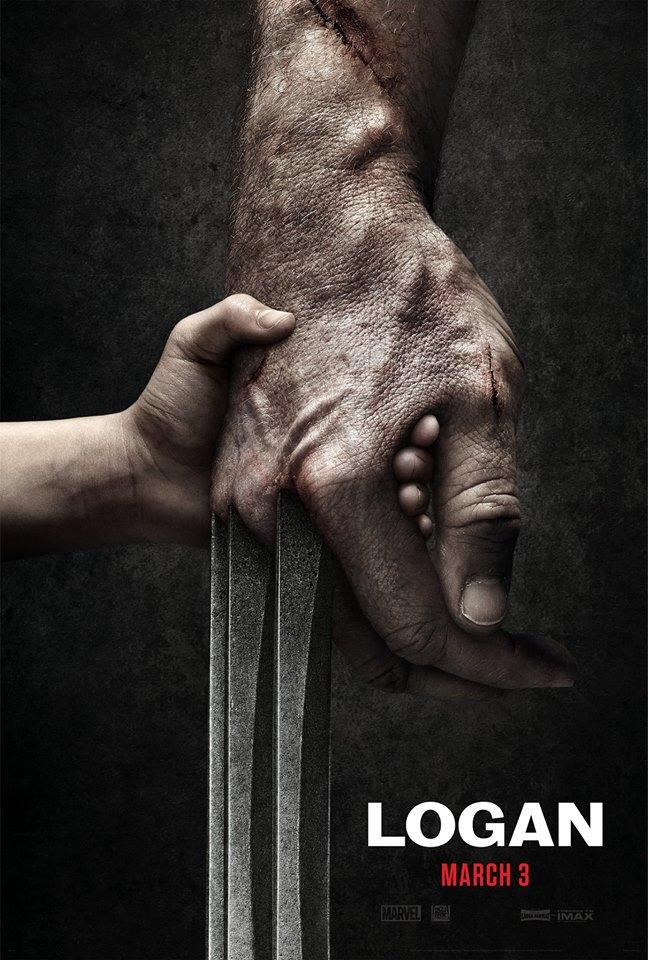 Première affiche du film | Logan: le dernier Wolverine