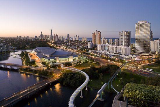 Gold Coast, la ville australienne sur laquelle <em>Pacific Heat</em> se base.