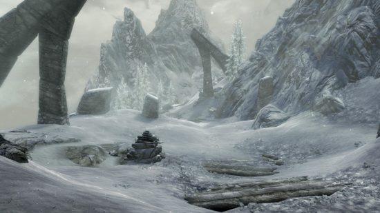 Les ruines à explorer vont vous donner le frisson et pas seulement par leurs températures polaires! | Skyrim Special Edition