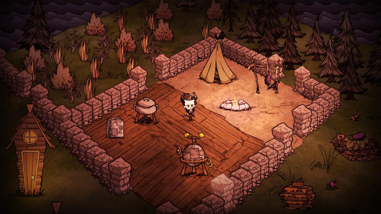 Don't Starve - Un campement que vous pouvez construire